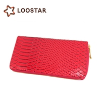 Luxury Women Clutch Wallet Bag with Zipper Dompet Making Supplies