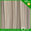 manufacture 201 lamination stainless decorative wall covering sheets for fabrication