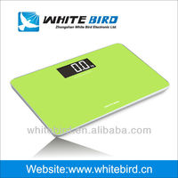 digital bathroom scale BG-1003, 150kg/330lb, large LCD easy to read from any distance
