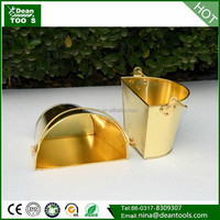 ANFANG TOOLS , HALF ROUND BUCKET ,wall hanging copper bucket
