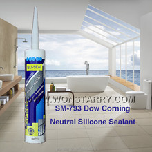 Anti-fungus low odour sanitary silicon sealant