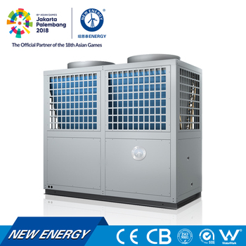 air water r22 horizontal heat pump water heater for commercial heating