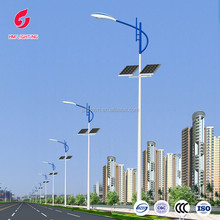 IP65 led solar street lights, road lamps with pole