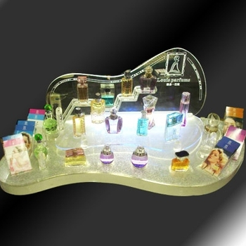 Porcelain white acrylic jewelry display stand,lucite necklace display racks,perspex Countertop Display Stand
