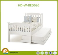 Modern solid wood kid children furniture single bed