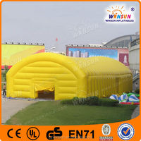 CE certificate PVC tarpaulin giant inflatable tent uk