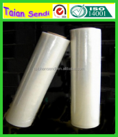 Virgin Grade LLDPE Material stretch film jumbo roll of hand