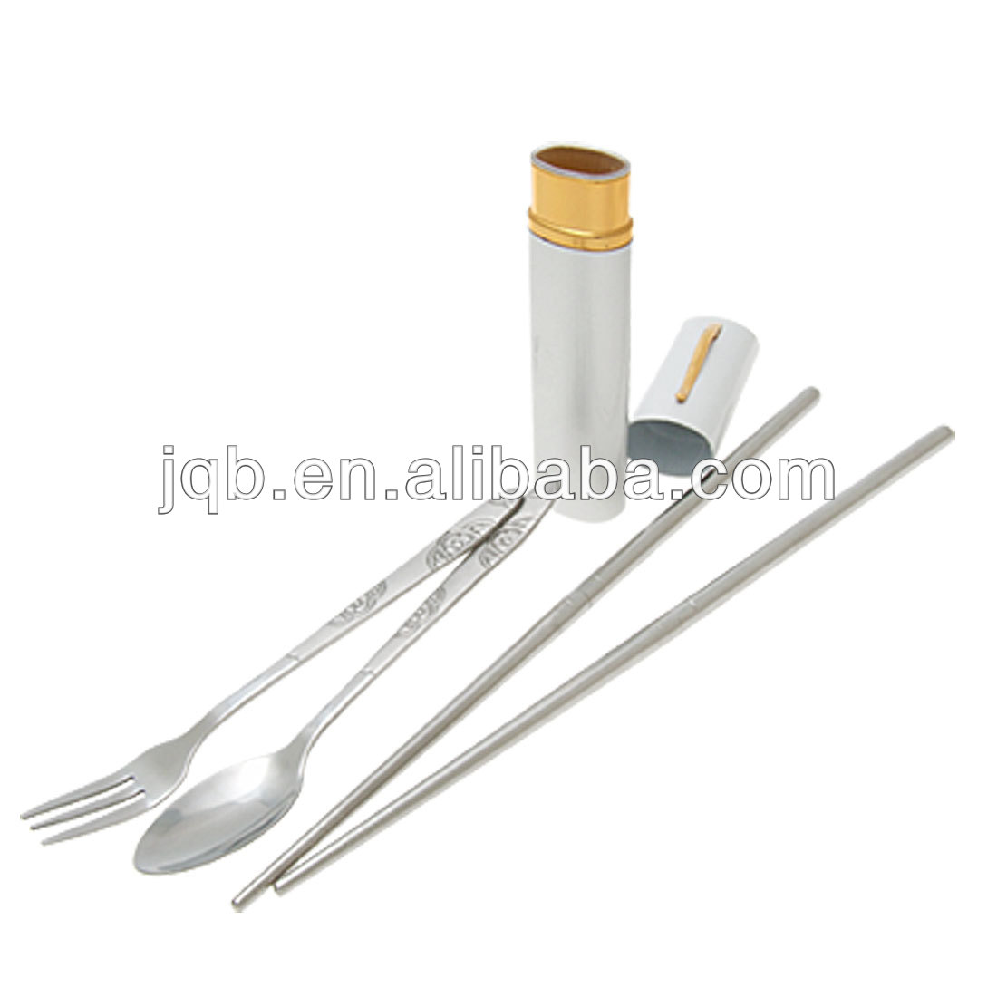 stainless steel folding chopsticks