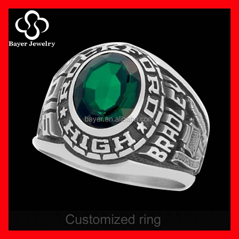 high quality keystone custom class rings