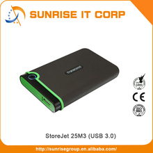 Transcend USB 2.0 / 3.0 500gb 1tb 2tb portable external hard drive