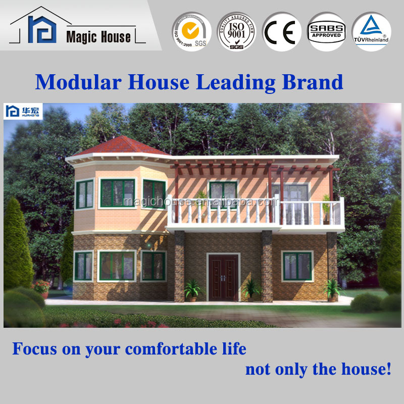 European Style and Standard New Designed Villa House with Erathquake proof of 9 greade and fireproof of level A1