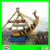 gold manufacture pirate boat kids modern indoor playground
