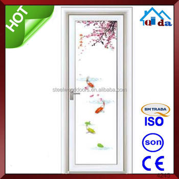 chinese perfessional doors manufacturer arched glass interior sound proof commerical interior glass doors