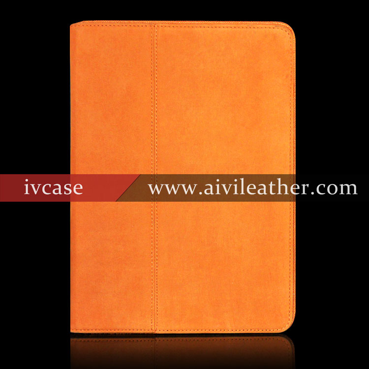 Full Grain First Layer Cowhide Leather Case For Ipad Air 2 ,Unbreakable Protective Case For Ipad air 2