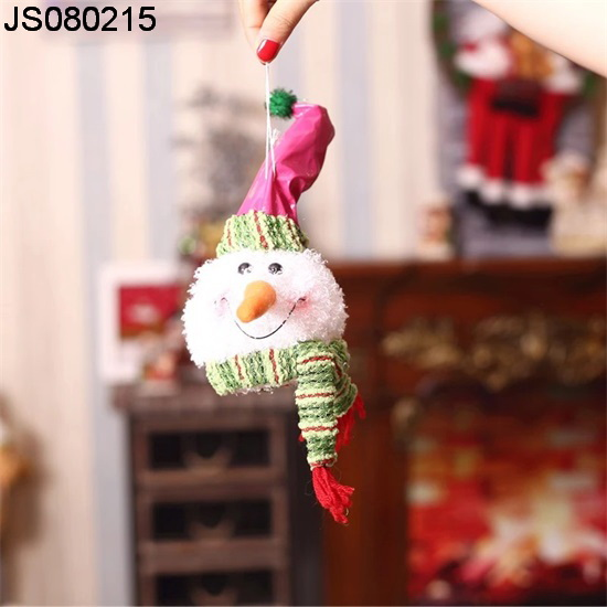 2016 New Christmas decoration, Christmas fabric Snowman hanging, for indoor Christmas decoration
