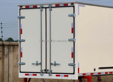 Light weight material panel holypan applied in truck body back doors