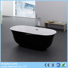 Newest Design Black Fiberglass Bathtub with Cheap Prices