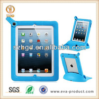 Shockproof protect EVA foam Keyboard case for ipad tablet pc, foam rubber case for ipad3
