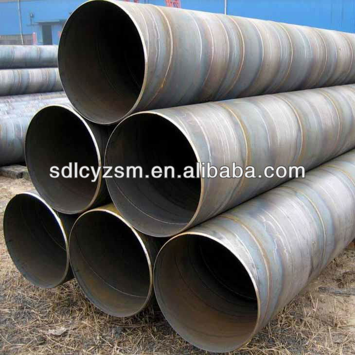 construction SSAW spiral steel pipe