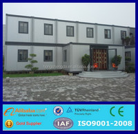 prefabricated 40ft shipping living container house hotel price