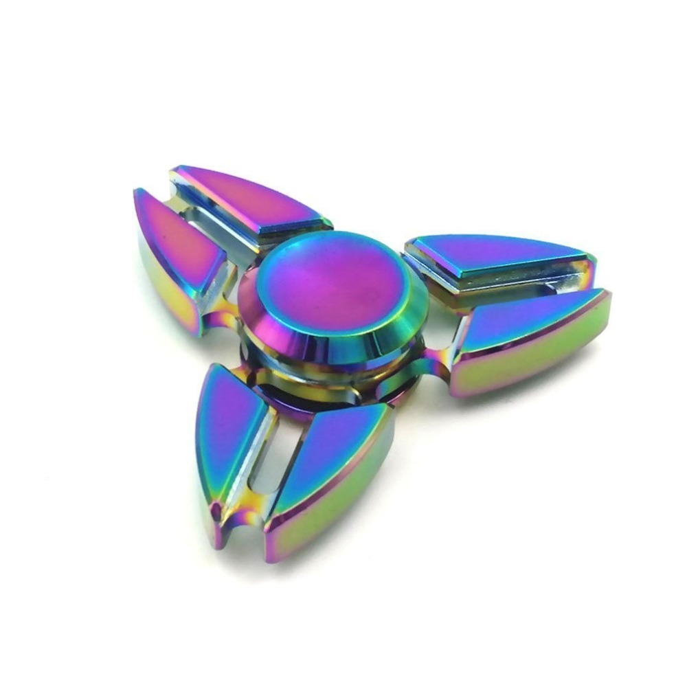 Wholesale High Speed Customized Aluminum Hand Spinner with Long Rotation