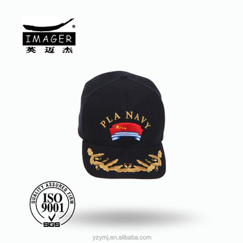 Customized Air Defence Forces Senior Chief Hat with Embroidery for Military Baseball Cap