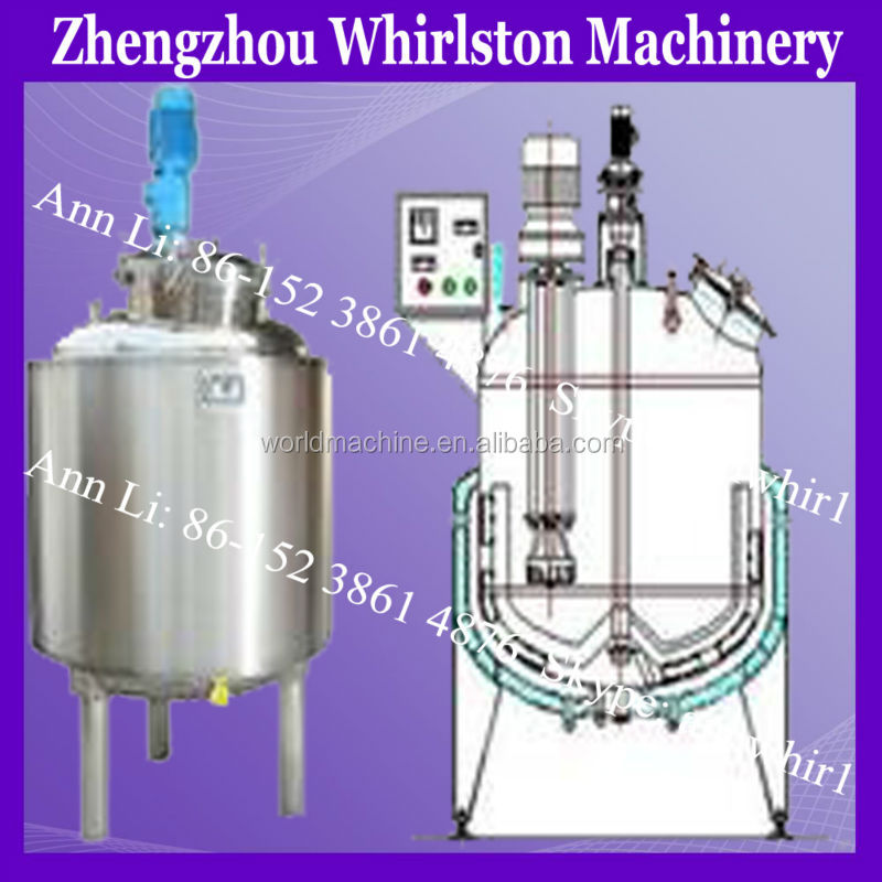 stainless steel beveerage and wine processing mixing tank