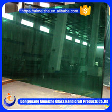Custom high quality 3-19mm thick different size clear float glass