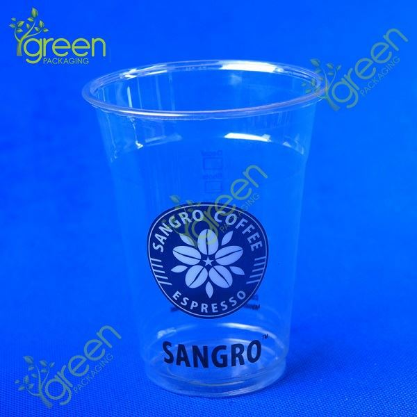 print photo on cup / salad container with dome lid / disposable tea cup with high quality