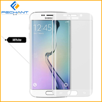 2015 Mobile Phone Use 3D tempered glass screen protector s6 edge
