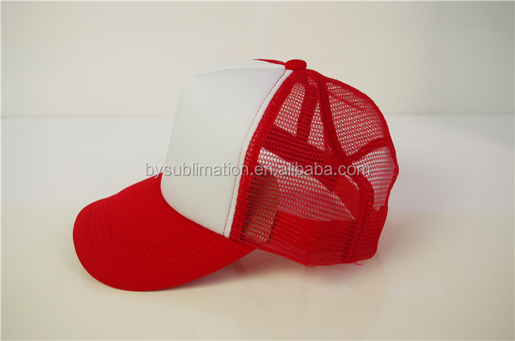 Fashion Baseball Washed Cotton Sports Snapback Cap Dye Sublimation 5 Panel Hats
