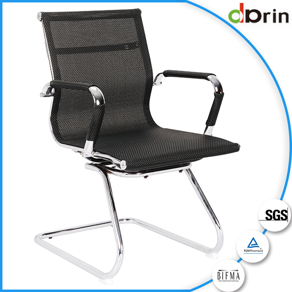 Modern office furniture adjustable armrest office chairs no wheels