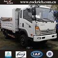 Cheap price sand tipper truck new 110hp 3 ton trucks for sale