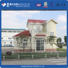Professional Albania villa style small house manufactured in China