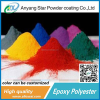 Best Products Anyang Star Supplierral fluorescent mini epoxy polyeste waste powder coatings