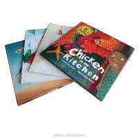 Thick Hardcover Book Printing / 4C Printing Hard Cover Books / Factory Printing Hardcover Children' Books