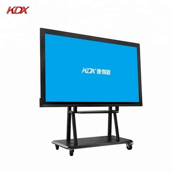 75 inch capacitive multi touch screen display with overlay