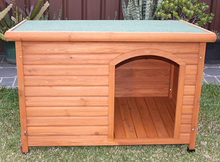 Factory good quality flat roof dog house