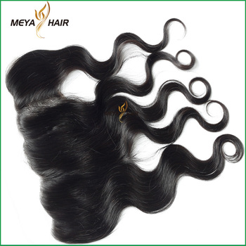 easy to dye Indian wavy cuticle hair 13x4 frontal for different style