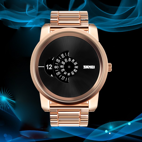 china watch manufacturer cheap big dial gold alloy unique design waterproof african watches for men