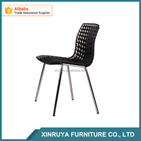 Home Furniture Plastic and Steel Chair