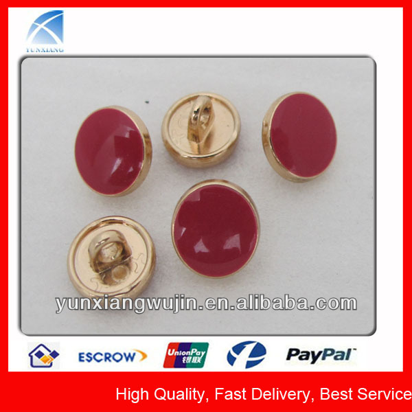 YX4538 Custom Alloy Made Fancy Metal Shirt Buttons for Sale