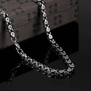 Latest Fashion Long Design Stainless Steel Bicycle Necklace Chain Necklace