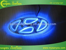 Cold light led car logo for honda ,auto logos led lamps