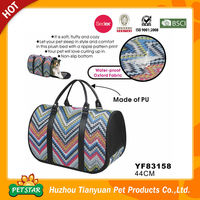 Non-Slip Bottom Ripple Pattern Pet Carrier Private Label