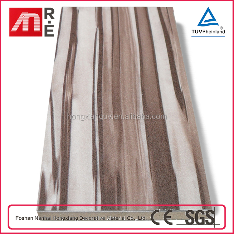 2015 New Style High Gloss Recycle Uv MDF Board