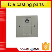 Powder coating ADC12 die casting parts used to machine