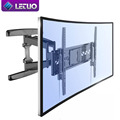Up and Down TV mount Curved full motion TV wall mount bracket for hisense skyworth
