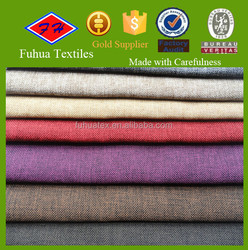 high quality imitated linen bonded tc backing sofa fabric