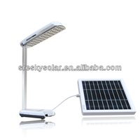 Solar energy kit panel led flashlight charger for mobile phone